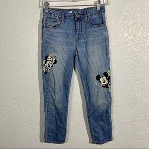 Vintage Gap Disney Mickey Jeans 10